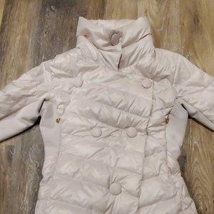 Pink Rose Gold Lululemon Puffer Coat Jacket 2